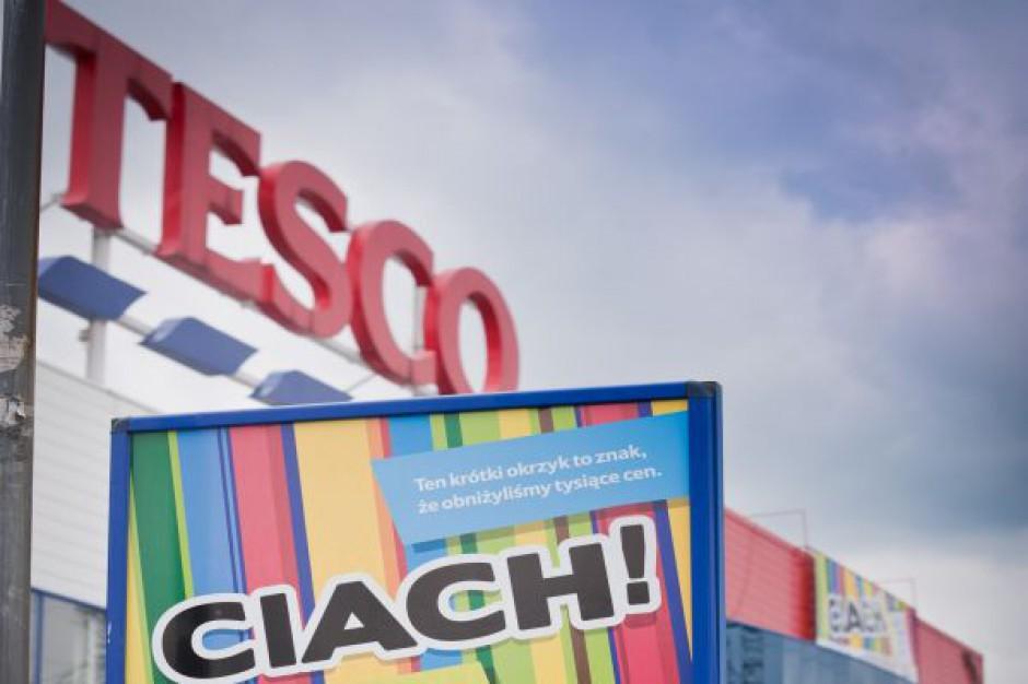 Sprzedaż Tesco w Polsce po kolejnym kwartale na niewielkim plusie