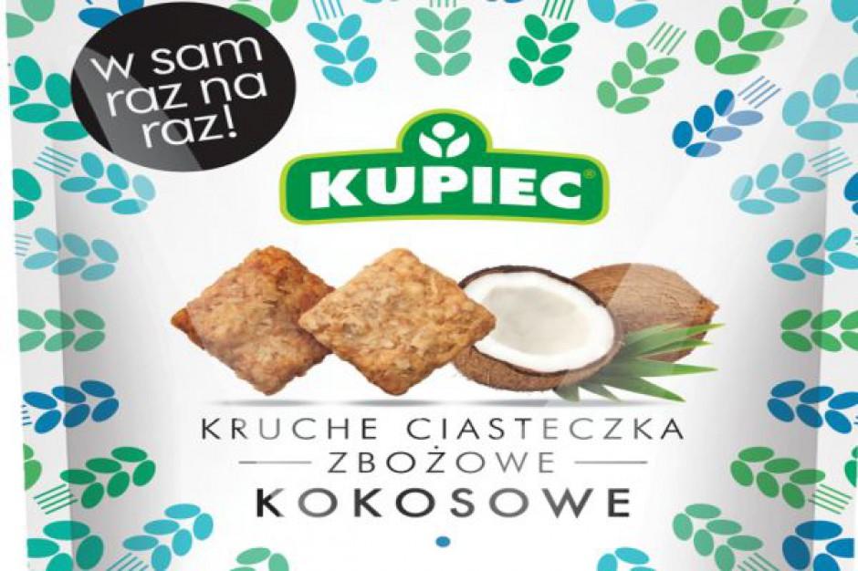 Firma Kupiec wprowadza na rynek ciasteczka zbożowe