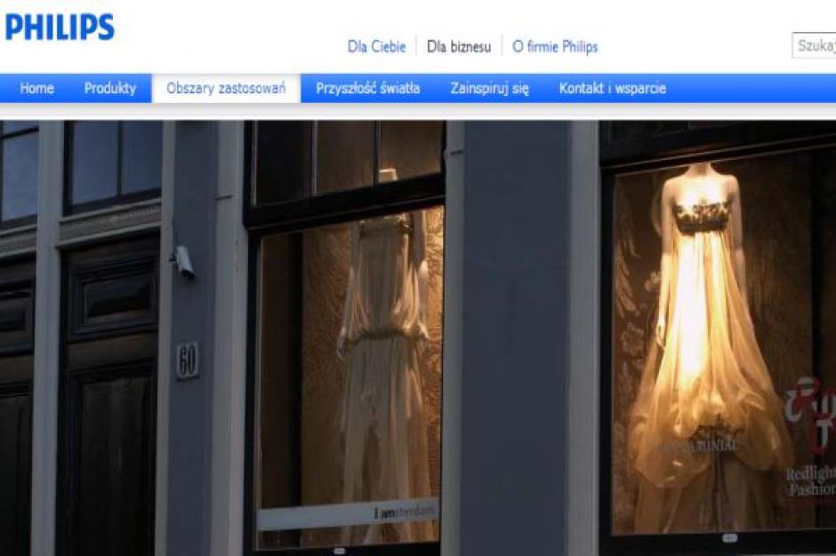 Philips stworzył oprawy oświetleniowe, które będą geolokalizować klientów w sklepach