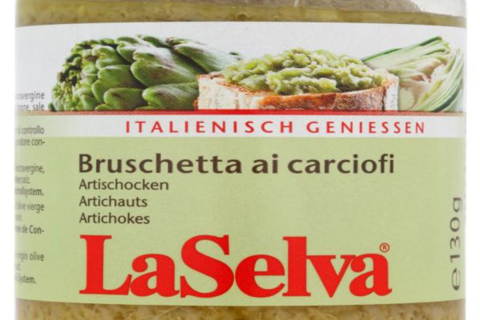 Włoska BIO Bruschetta z karczochów LaSelva