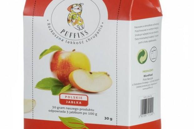 Jabłka marki Puffins