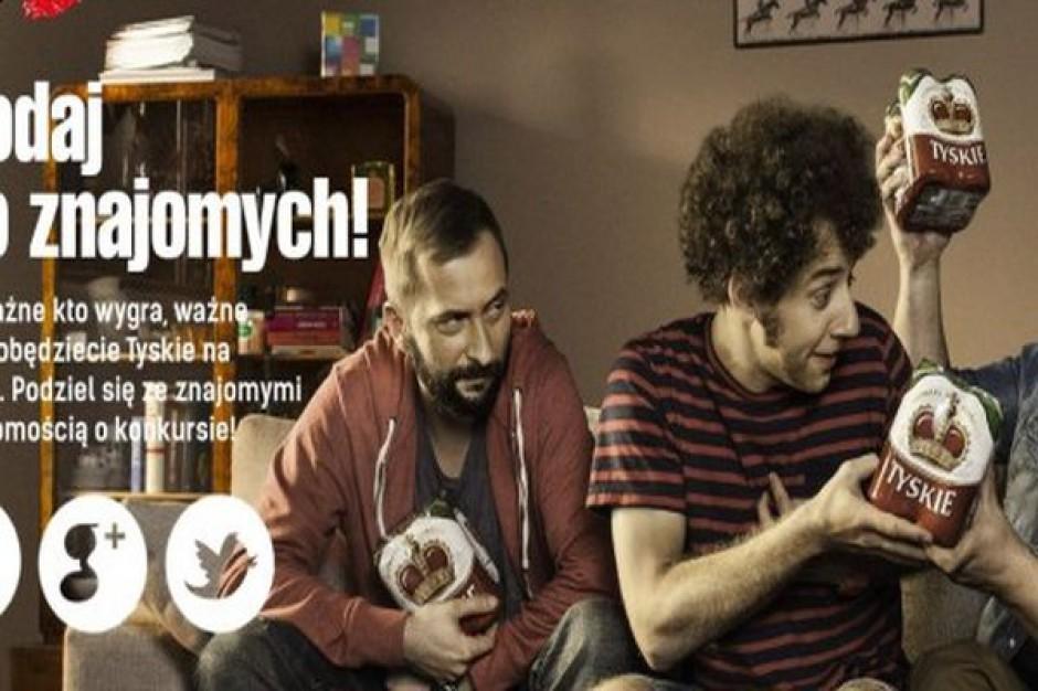 Internetowa odsłona kampanii Tyskiego