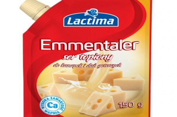 Sery topione w saszetkach marki Lactima
