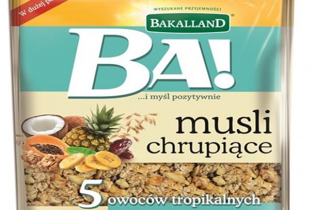 Nowości od marki Bakalland