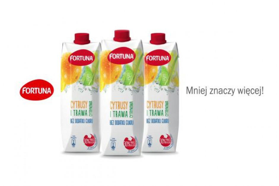 Fortuna rusza z dwumiesięczną kampanią promującą linię napojów bez dodatku cukru