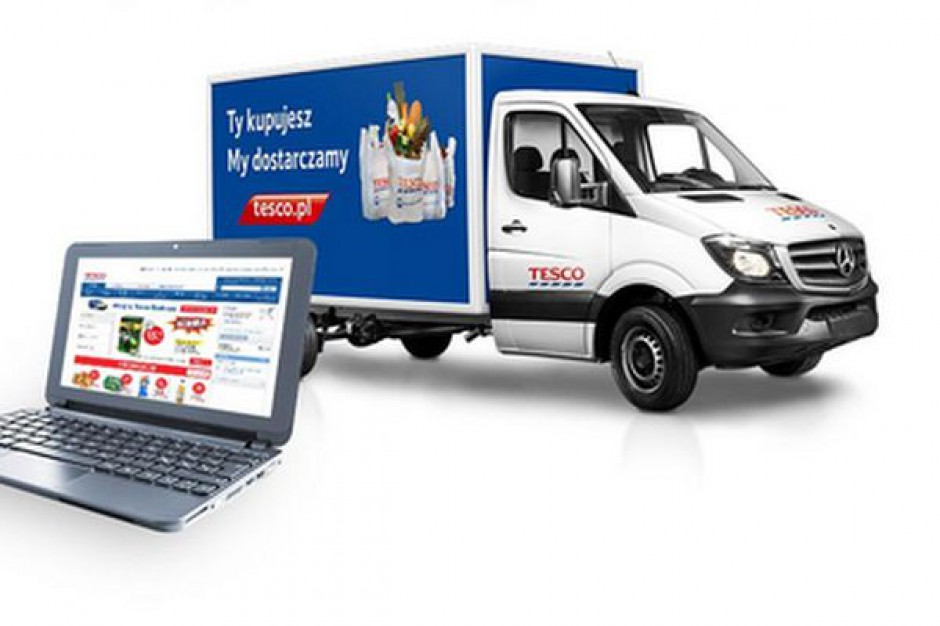 Tesco: Do końca roku chcemy przekroczyć granicę 1,5 miliona dostaw z e-sklepu