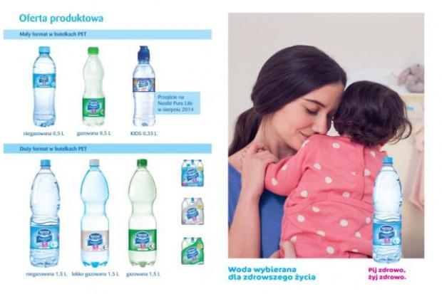 Nestlé Pure Life z pierwszą kampanią w Polsce