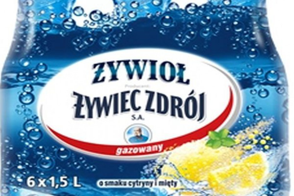 Nowa odsłona wody i napojów Żywioł od Żywiec Zdrój