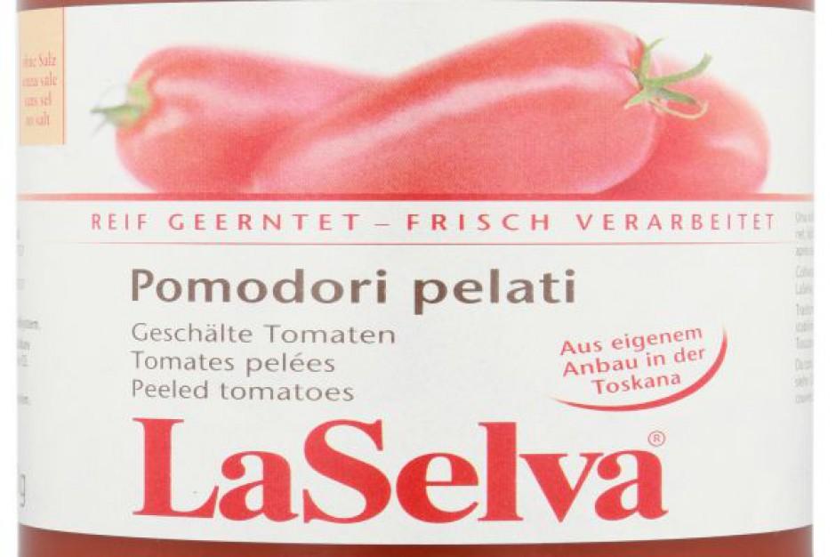 Włoskie BIO Pomidory Pelati marki LaSelva