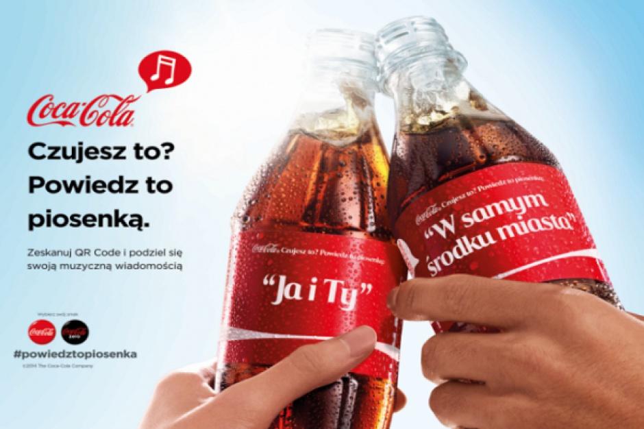 Coca-Cola cytuje przeboje muzyczne w nowej kampanii
