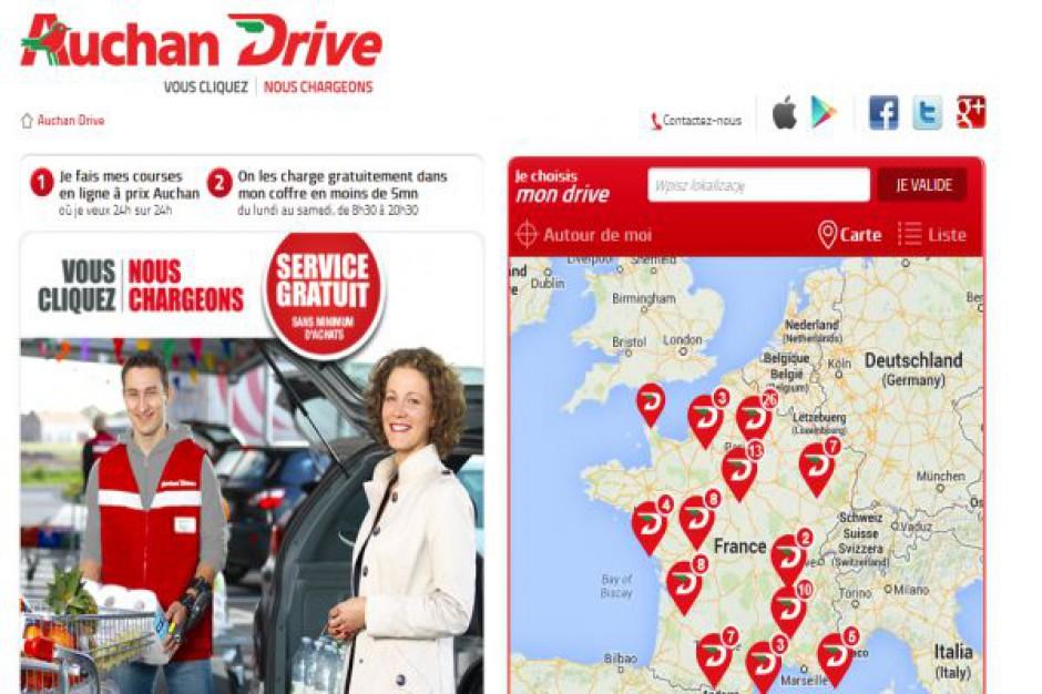Auchan inwestuje w koncept Drive