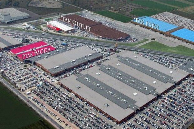 600 mln euro na rozbudowę Ptak Fashion City