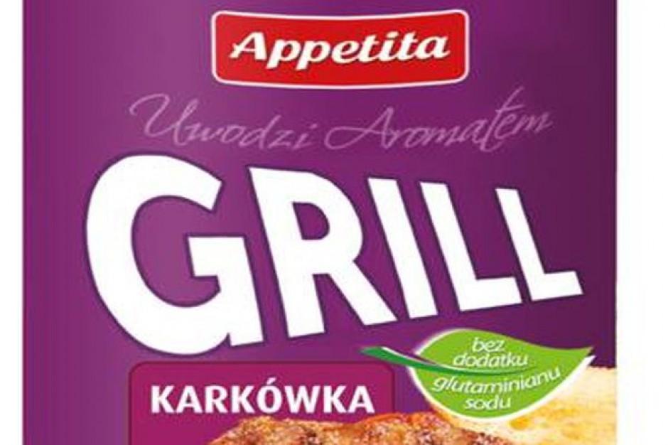 Przyprawy z linii Smaczne grillowanie Appetita