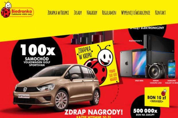 Biedronka chce poprawić sprzedaż loterią, wartość nagród to 18 mln zł