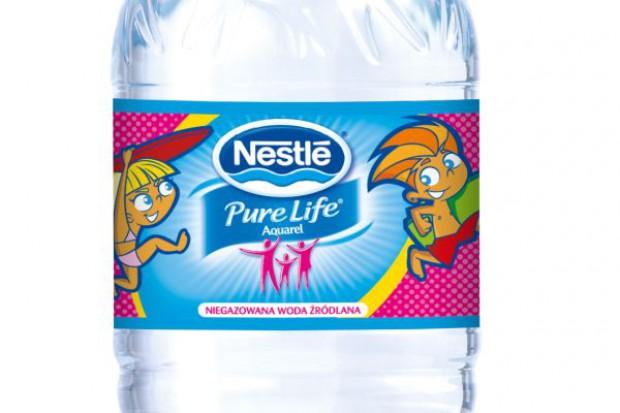Rebranding wody Nestle