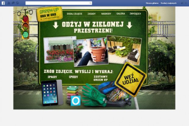 Facebookowy konkurs marki Green-Up
