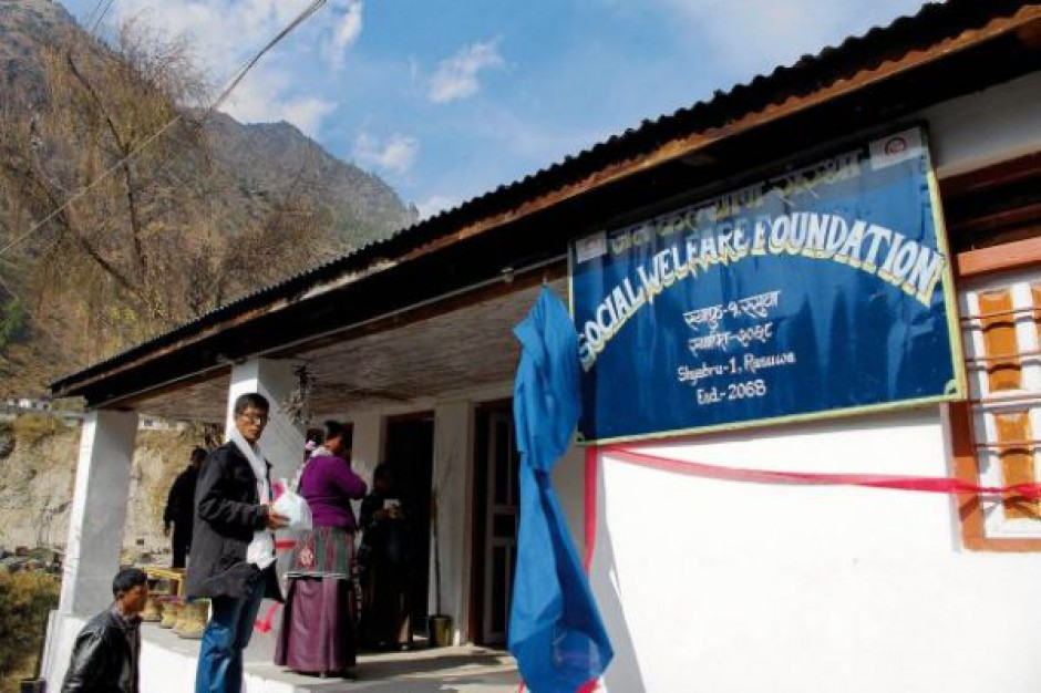 Piekarnia zbudowana przez Polaków pomaga ludności z Nepalu