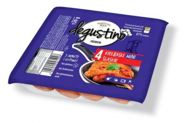 Kiełbaski Degustino w trzech smakach