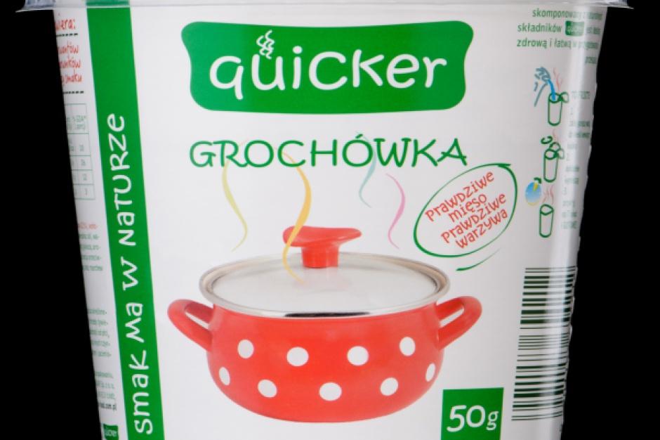 Zupy marki Quicker - tradycyjne i polskie