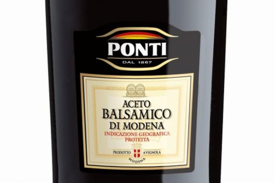 Ocet balsamiczny z Modeny marki Ponti