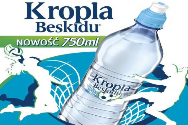Nowa butelka Kropli Beskidu 0,75l