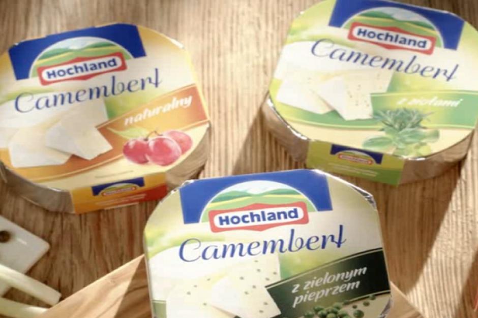 Hochland wspiera sprzedaż serów Camembert