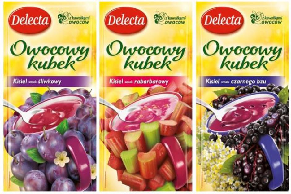 Trzy nowe smaki Owocowego kubka Delecta