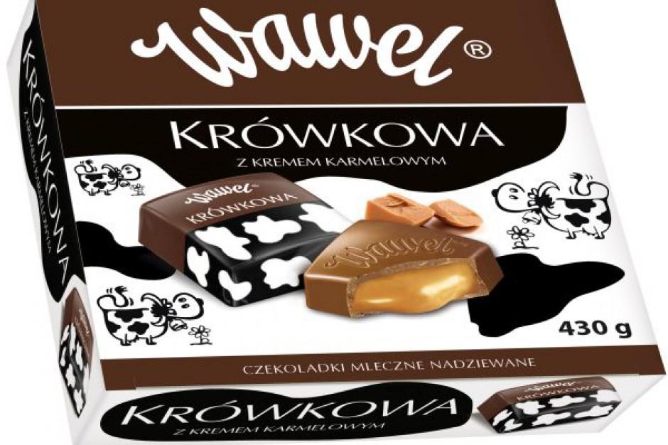 Nowe, kwadratowe czekoladki z Wawelu