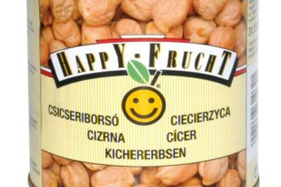 Warzywa w puszkach marki Happy Frucht