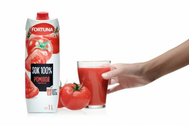 Wystartowała kampania reklamowa soków pomidorowych Fortuna