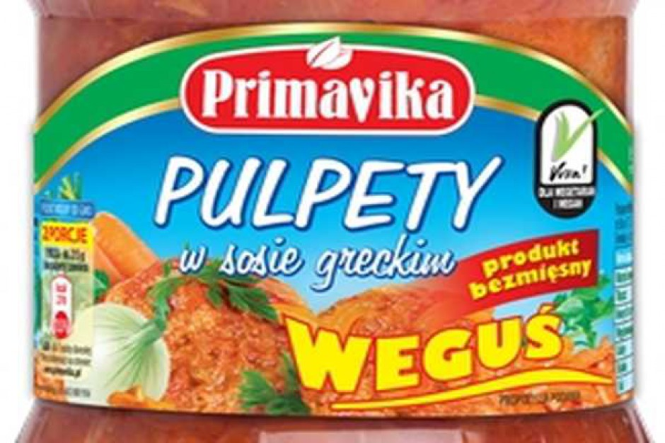 """Bezmięsne Pulpety w sosie greckim """"Weguś"""""""