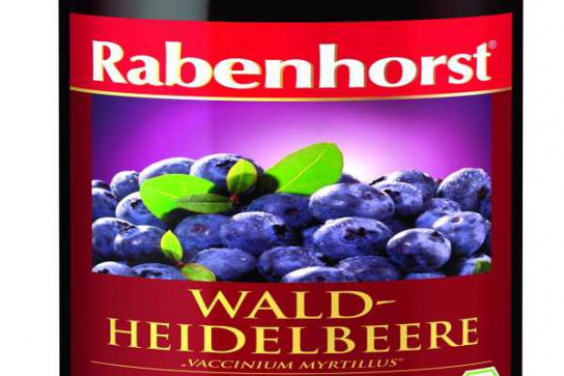 Sok z czarnych jagód BIO Rabenhorst