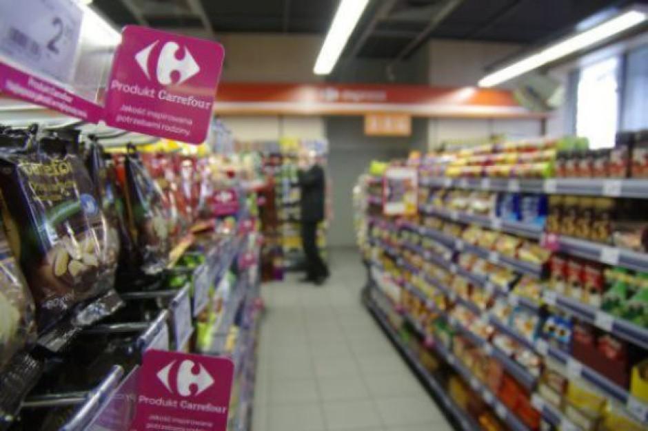 Spada sprzedaż Carrefoura w Europie