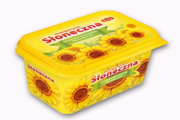 Nowy kubek margaryny Słonecznej