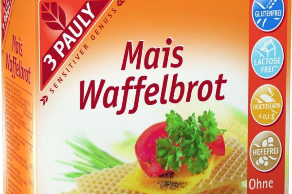 Bezglutenowe wafle kukurydziane marki 3 Pauly