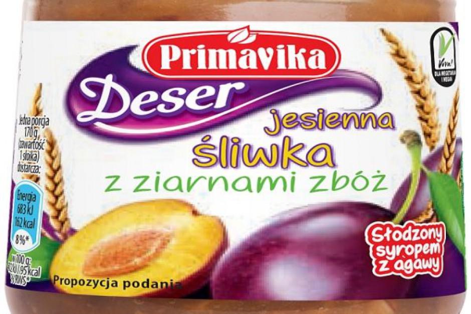 Deser Jesienna śliwka z ziarnami zbóż od Primaviki