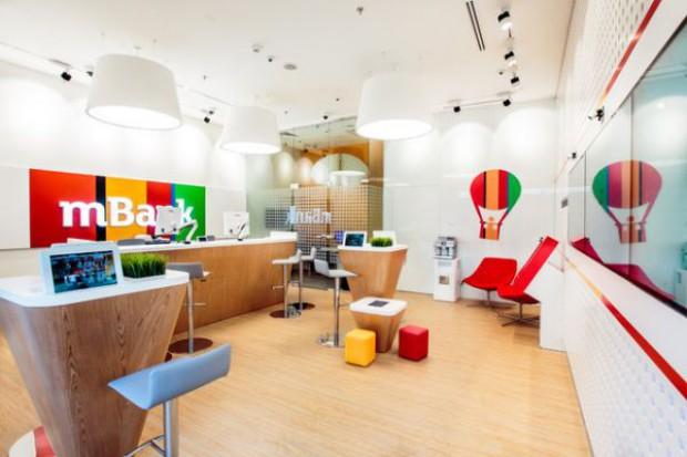 mBank planuje otworzyć 50 placówek w centrach handlowych