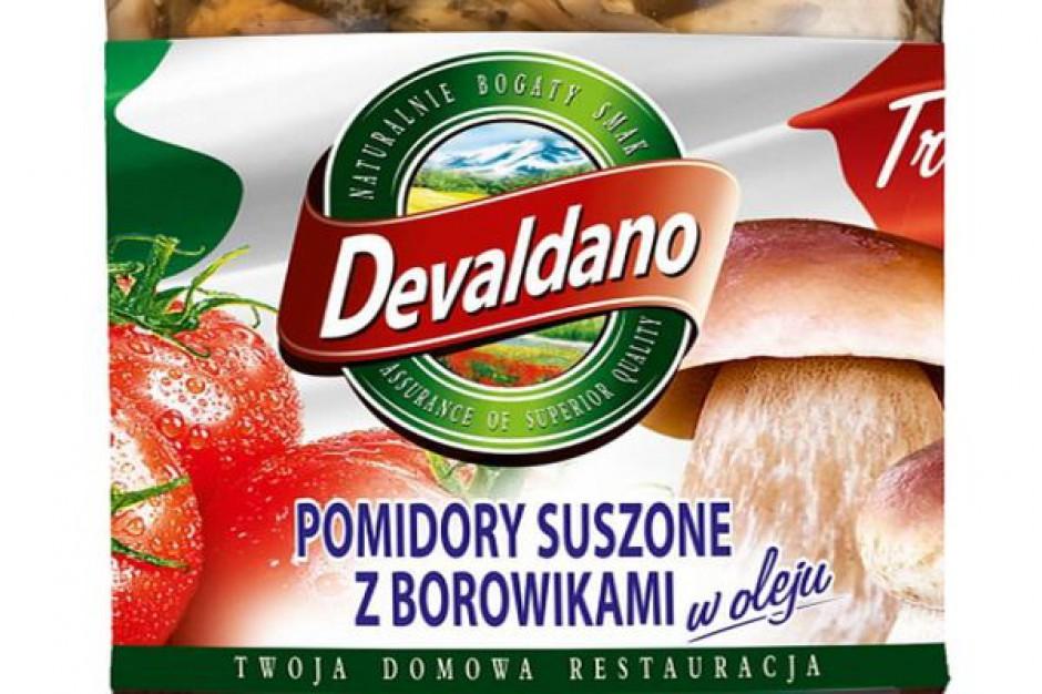 Pomidory suszone z borowikami w oleju od Devaldano