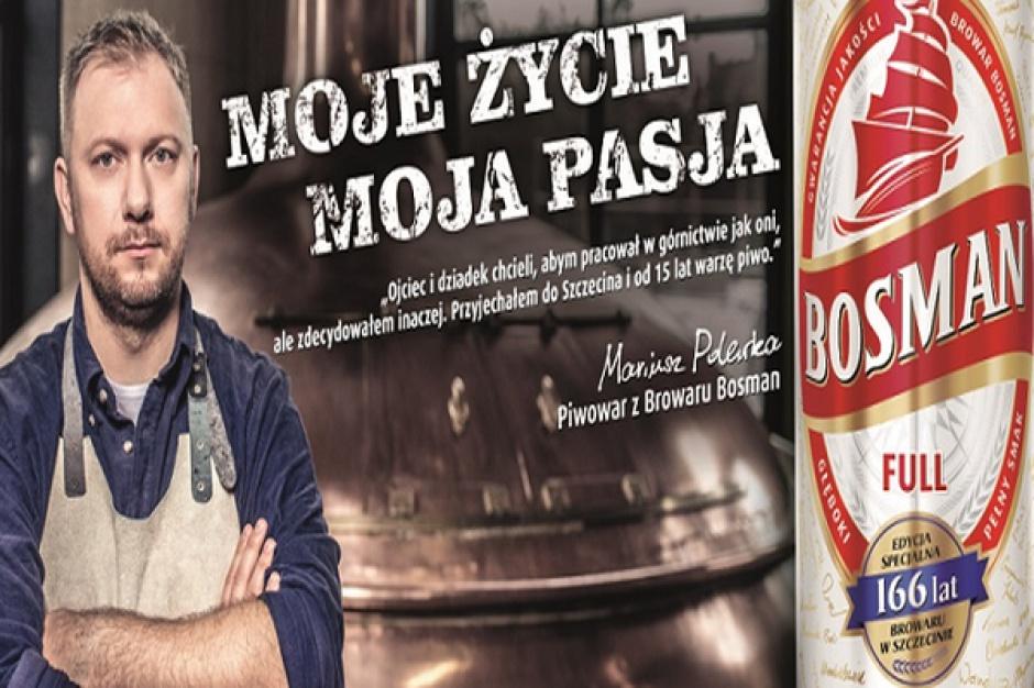 Piwowarzy reklamują markę Bosman