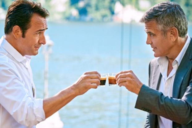 Jean Dujardin i George Clooney w reklamie Nespresso