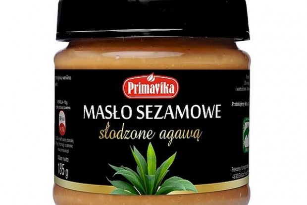 Masło sezamowe słodzone agawą Primavika
