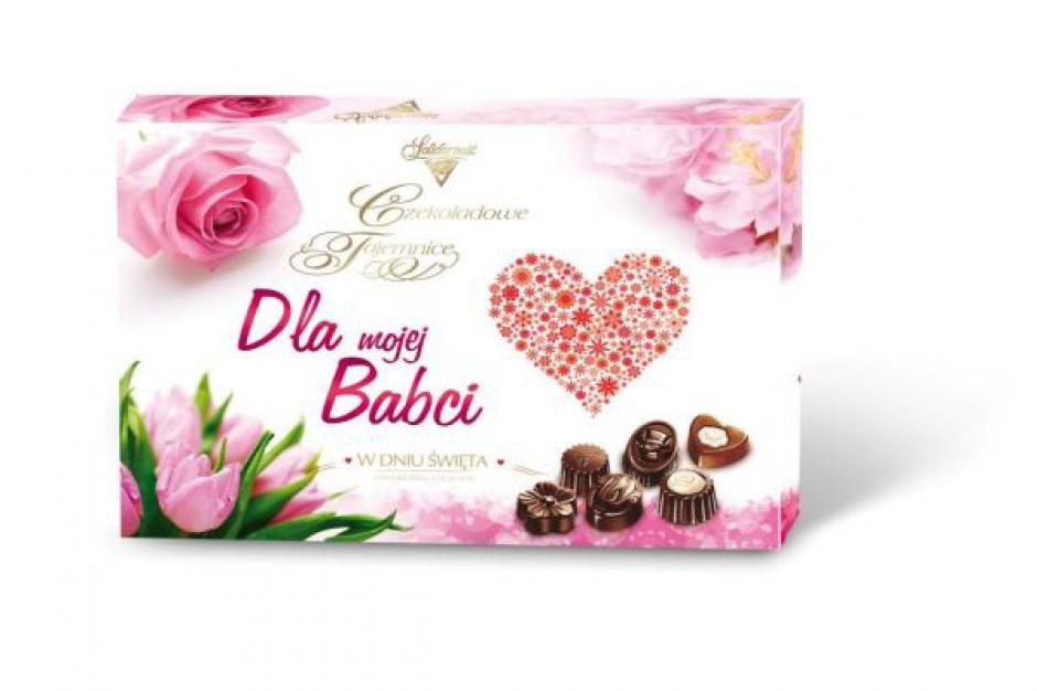 Słodycze Colian na Dzień Babci, Dzień Dziadka i Walentynki