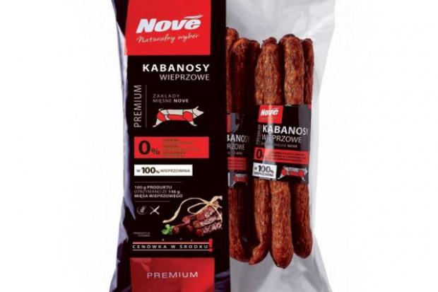 Kabanosy wieprzowe z linii Nove Premium