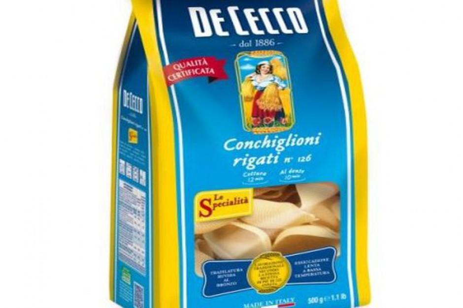 Makaron Conchiglioni Rigati włoskiej firmy De Cecco