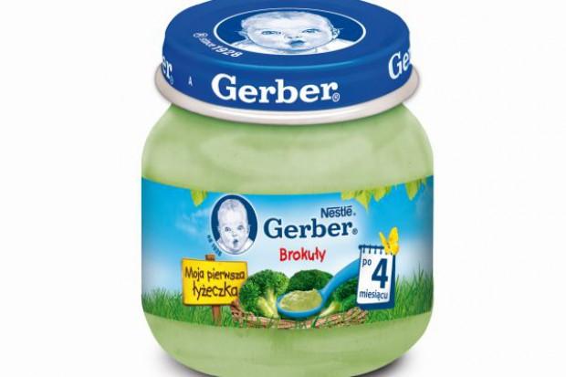 Nowe warzywne smaki posiłków Gerber