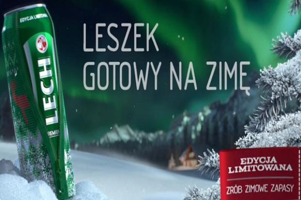 Zimowa kampania piwa marki Lech