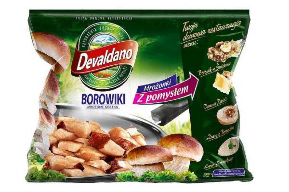 Mrożone Borowiki od Devaldano