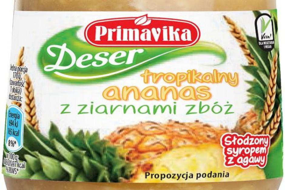 Deser Tropikalny Ananas z ziarnami zbóż
