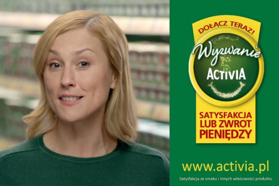 Wyzwanie Activia w nowej kampanii reklamowej