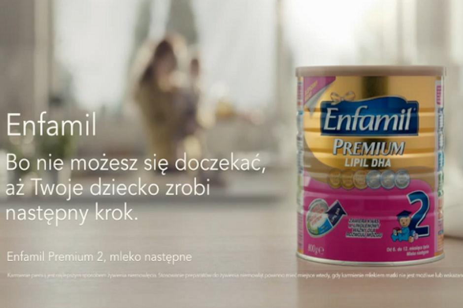 Pierwsza telewizyjna kampania reklamowa mleka dla niemowląt Enfamil